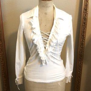 Ann Fontaine white shirt